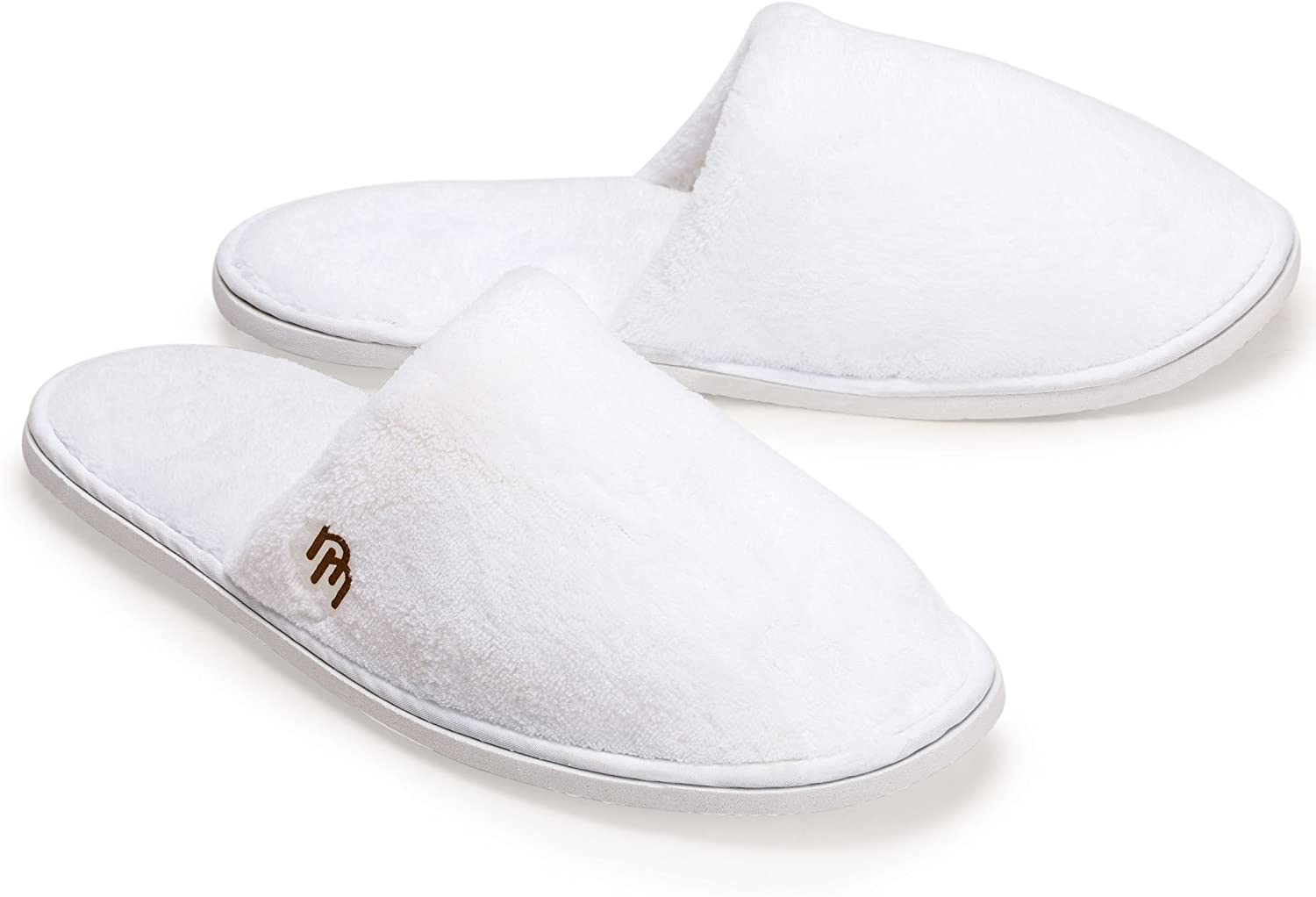Nicely Neat 12pkClosed Toe Coral Fleece Slipper