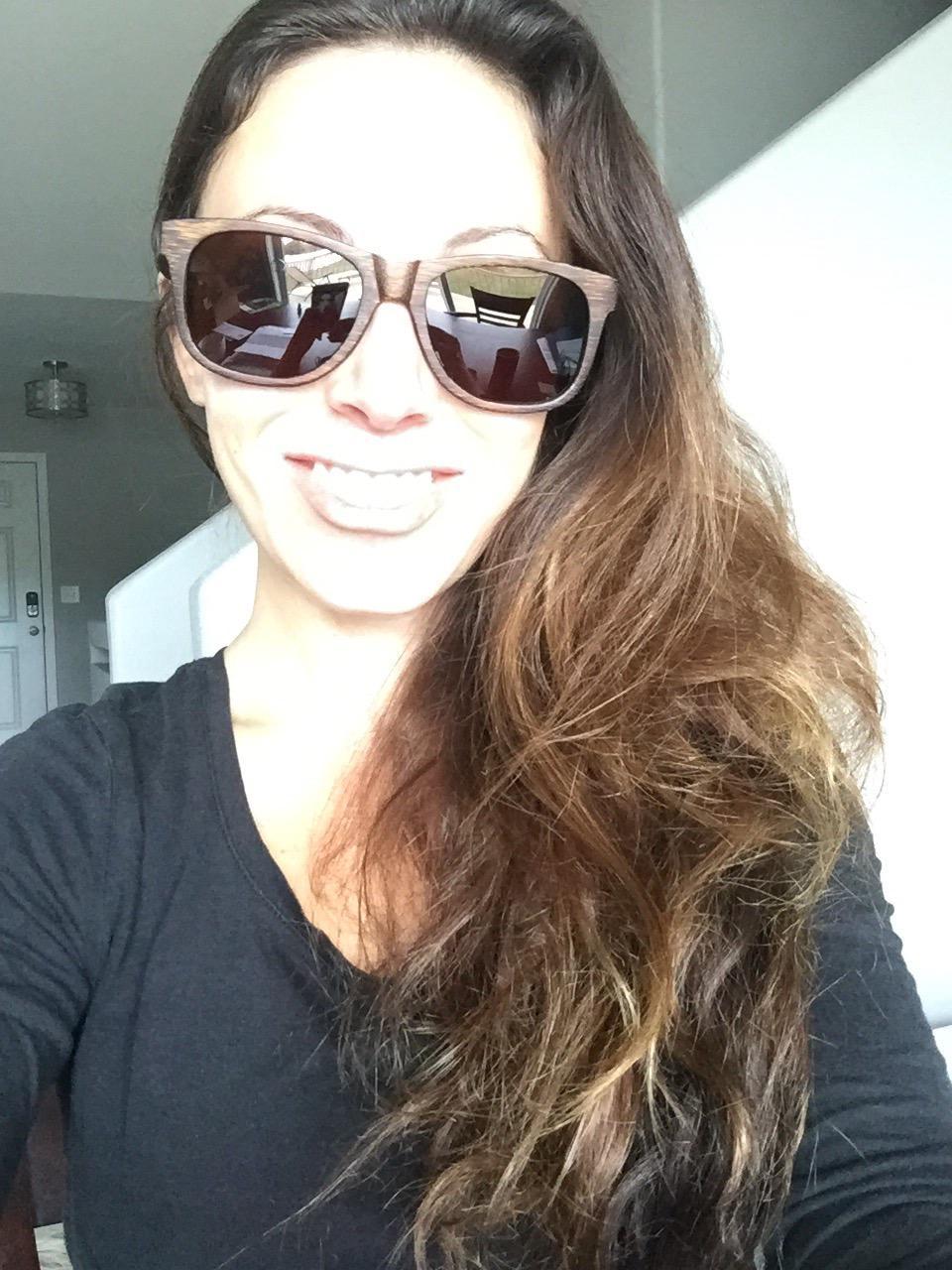 f95beb64d4 Wood Sunglasses Polarized for Men and Women - Bamboo Wooden Wayfarer ...