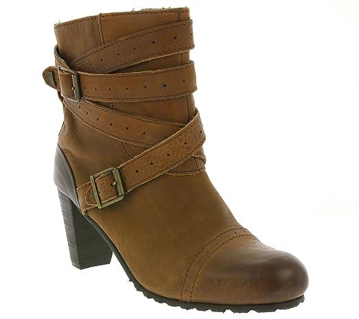 premium selection 824b5 246d2 Levis Stiefel Damen Stiefelette Absatz-Boots Braun 217733 ...