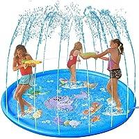 Splash Pad Sprinkler Esteira 170cm Piscina Inflável Infantil