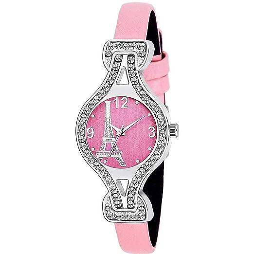 JAY VIRU ENTERPRISE Analogue Bracelet Diamond Studded Watch JVE3006