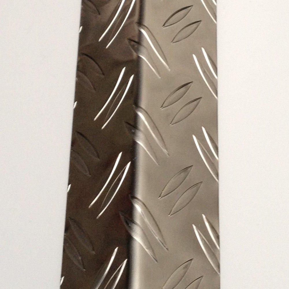 Aluminium Warzenblech Eckschutzschiene 1500mm lang Schenkel 50/50mm Reddig