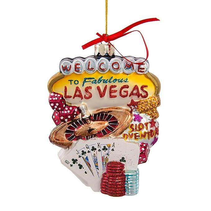 Amazon.com: Kurt Adler C4056 Las Vegas Glass Cityscape Ornament,  5-1/2-Inch: Home & Kitchen - Amazon.com: Kurt Adler C4056 Las Vegas Glass Cityscape Ornament, 5-1