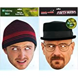 TWIN PACK Breaking Bad - 2 x Officially Licensed Breaking Bad Masks
