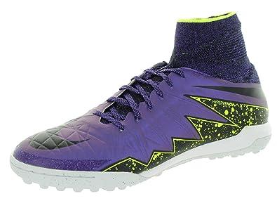 Nike Mens Hypervenomx Proximo TF Hyper Grape/Black/Crt Prpl/VltTurf Soccer Shoe