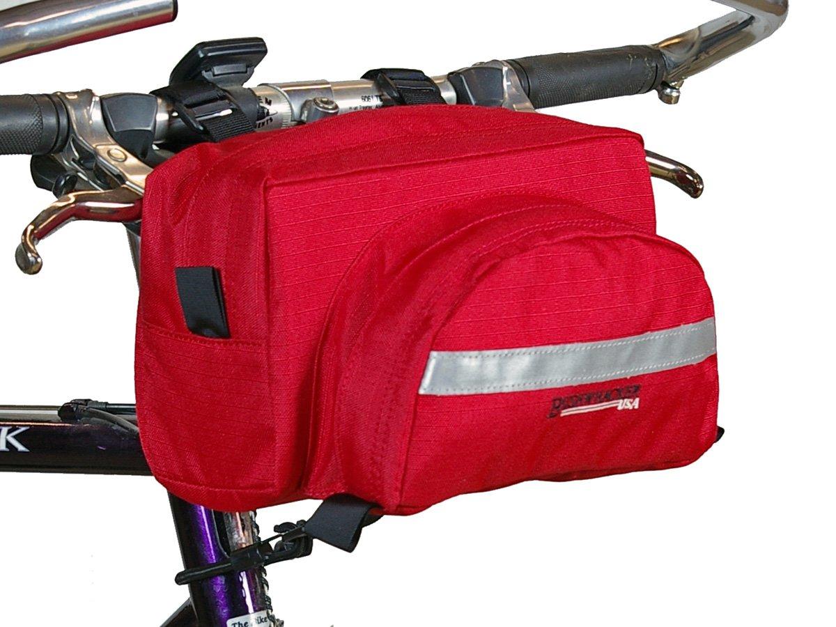 Bicycle Handlebar Bag Cycling Front Pack Bike Bag Accessories Frame DURRED Bushwhacker Durango Red