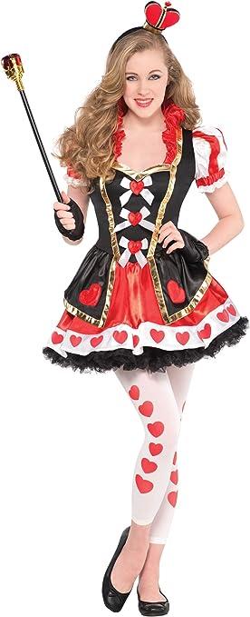 Disfraz para niñas adolescente de reina de corazones, de Christys ...