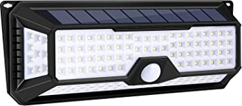 Utech 4 Sides 136 High Bright Solar LED Lights