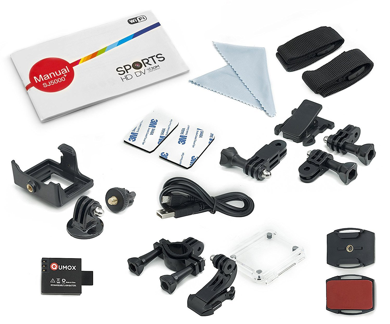 Amazon.com: QUMOX SJ5000, WiFi Action Sport Camera, Negro ...