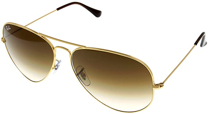f313c830e Image Unavailable. Image not available for. Color: Ray Ban Sunglasses Mens Aviator  Large Metal Gold RB3025 001/51 62