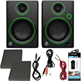 "Mackie CR Series CR3 - 3"" Creative Reference Multimedia Monitors (Pair) + Includes Bluetooth 2-in-1 Wireless Audio Receiver"