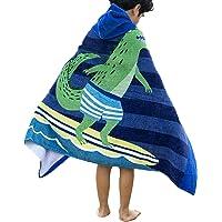 Comfysail Niños Toalla de Baño de 100% Algodón Toalla de Playa con Capucha de 2
