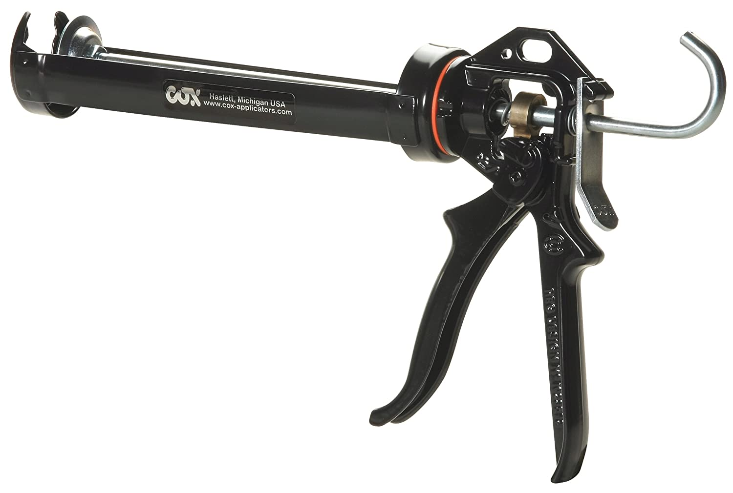COX 41004-XT Chilton Extra Thrust 10.3-Ounce Cartridge 18:1 Mechanical Advantage Cradle Manual Caulk Gun,  6-Pack Cox North America Inc.