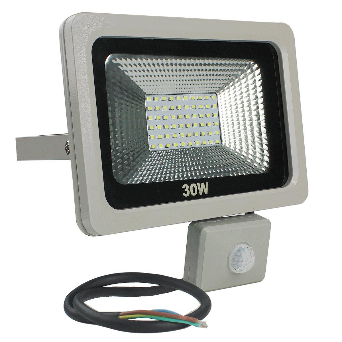 RPGT 30W Blanco Frío LED Foco Proyector Luz, Foco proyector con ...