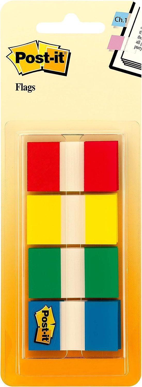 Post-it Flaggen mit unterwegs Spender 60 Flags Electric Glow Collection