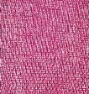 "Burlap Sheet (unsewn) 100% Jute 12""X12""-Hot Pink"
