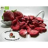 Gefriergetrocknete bio Erdbeeren / Scheiben 100g von Schmütz-Naturkost, Bio Trockenfrüchte