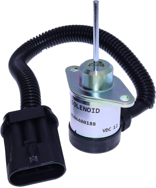 Solenoide de parada de combustible reemplazar Bobcat 1503ES-12A5UC4S Kubota 1G925-60010 6691498