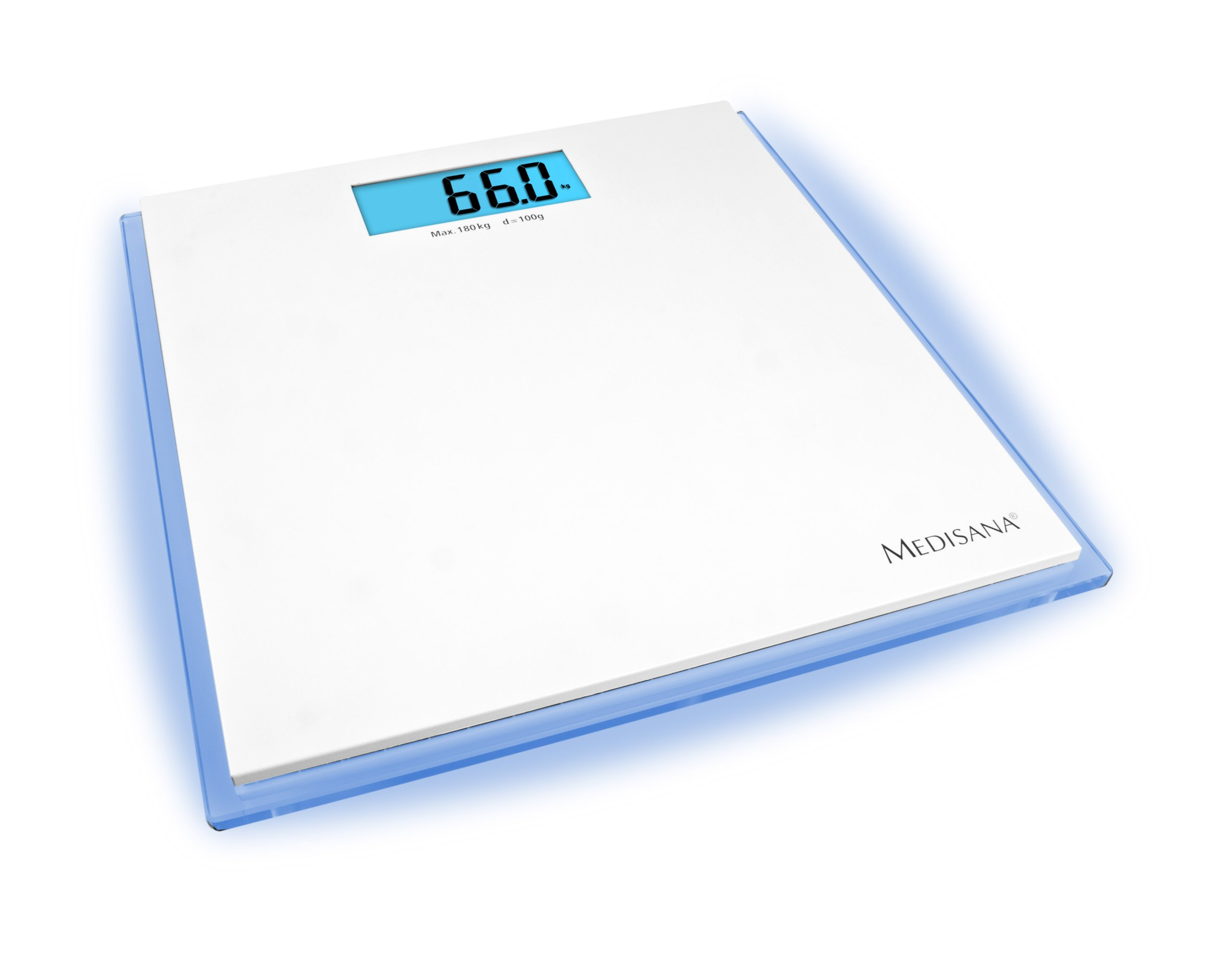 Personal Scale ISB with Blue LED Illumination by Medisana