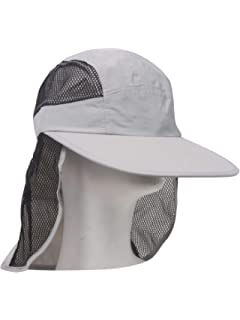 57b946eb Amazon.com : Juniper Outdoor UV Cap with Mesh Flap and Sides, One ...