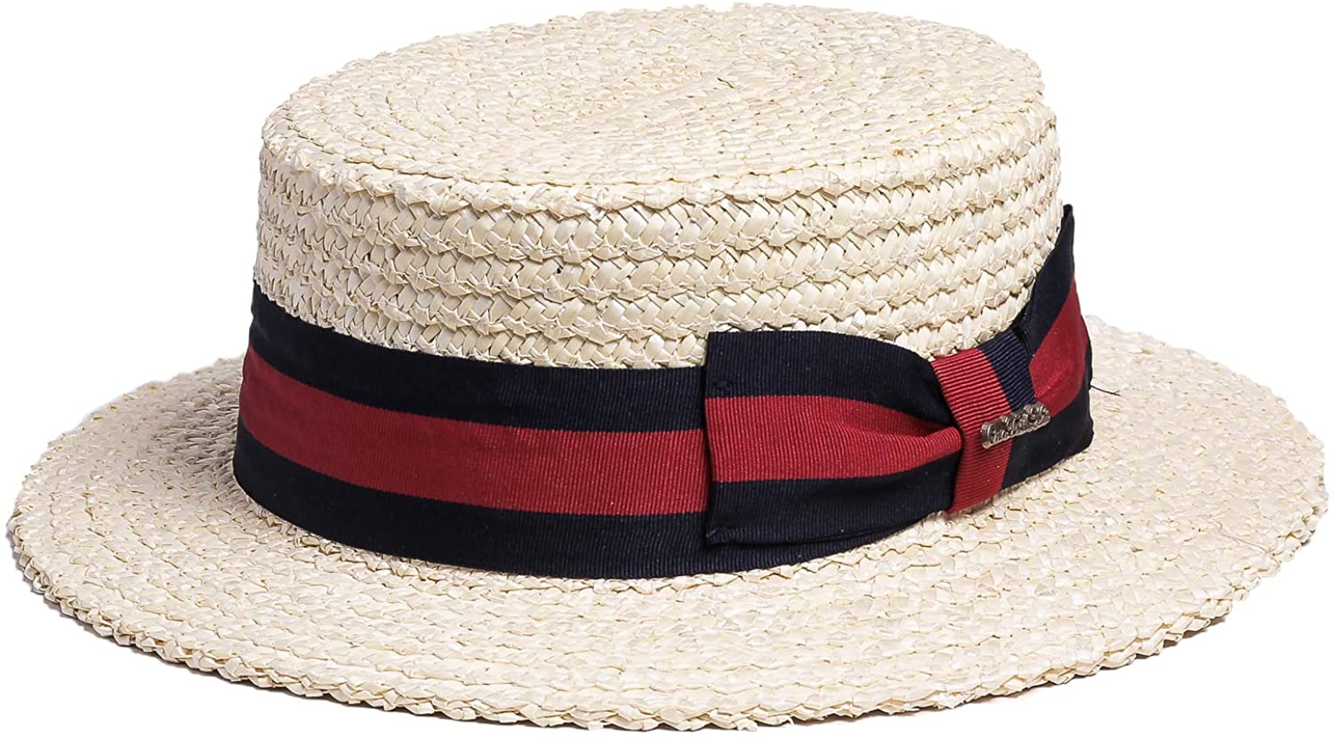 Downton Abbey Men's Fashion Guide Bellmora Mens Classic Straw Braid Boater Hat $49.99 AT vintagedancer.com