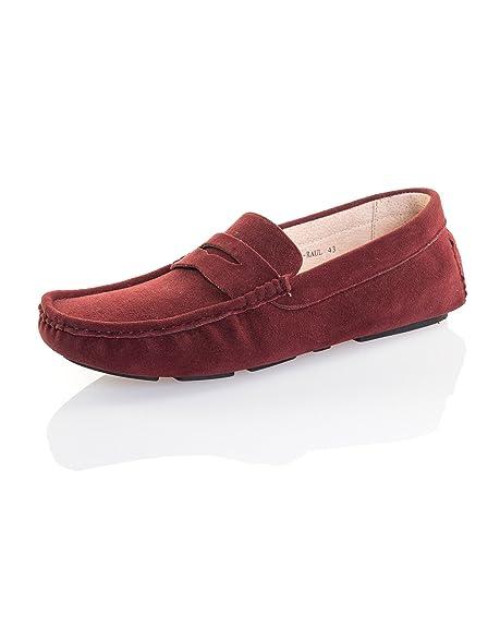 Reservoir Shoes - Mocasines para Hombre, Color Rojo, Talla 42: Amazon.es: Zapatos y complementos