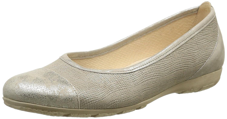 Gabor Geschlossene Schuhes 44.161 Damen Geschlossene Gabor Ballerinas Braun (62 Visone) 4c3999