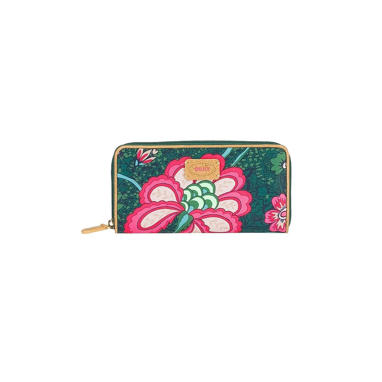 Oilily Paisley Flower Travel Wallet Green: Amazon.es ...