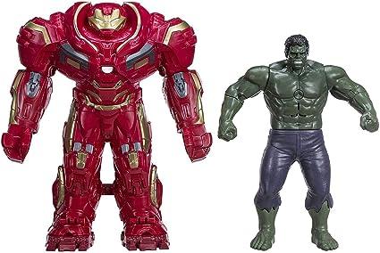 "Marvel Avengers Iron Man Hulk Buster Action figure 11"" Hasbro 2015 FREE SHIPPING"