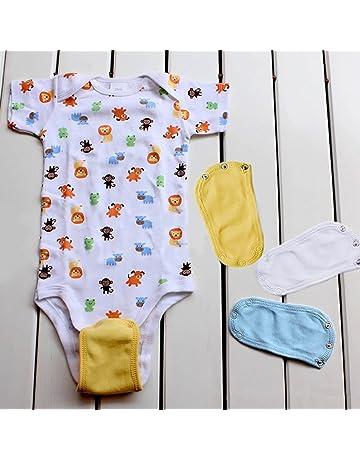 Extensor de traje de body, 4 piezas, universal, suave, para bebés,