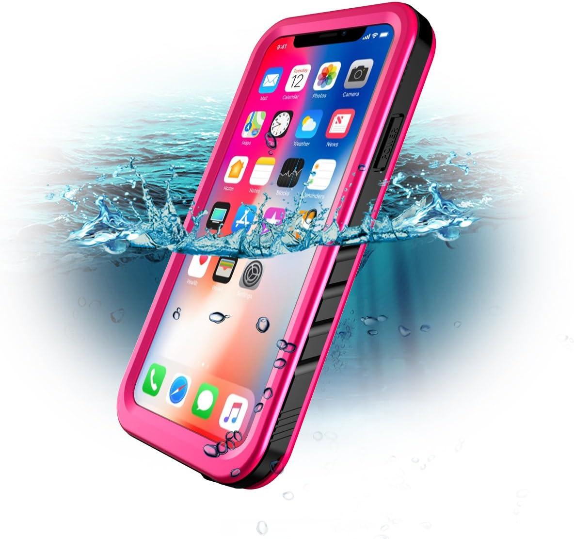 SPORTLINK Custodia Impermeabile per iPhone X/iPhone XS, IP68 Certificato Waterproof Cover Slim Subacquea Caso Full Protezione Case Protettiva per ...