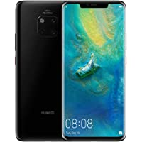 Huawei Mate 20 Pro Smartphone, 6 GB RAM + 128 GB ROM, 6.39'' display, IP68, Kirin 980 chipset, 40W HUAWEI SuperCharge, Leica Triple Camera, In-screen Fingerprint, 3D Face Unlock, Balck