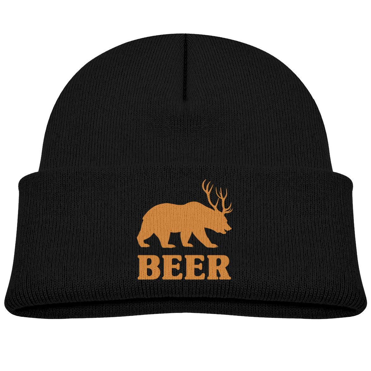 lightwek Beer Bear Deer Skull Hats Baby Girls