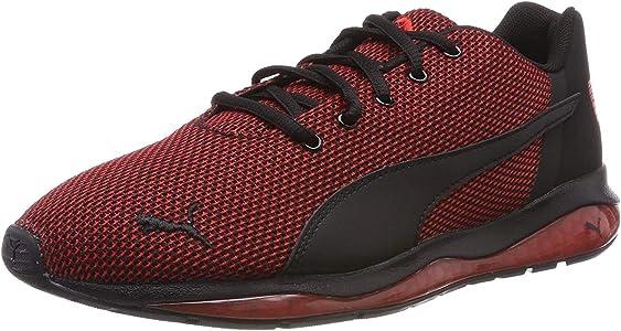 PUMA Cell Ultimate Point, Zapatillas de Running para Hombre, Negro Black/High Risk Red, 39 EU: Amazon.es: Zapatos y complementos