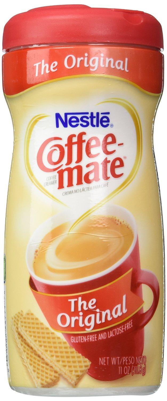 NESTLE COFFEE-MATE Coffee Creamer, Original, 11oz powder creamer, Pack of 6