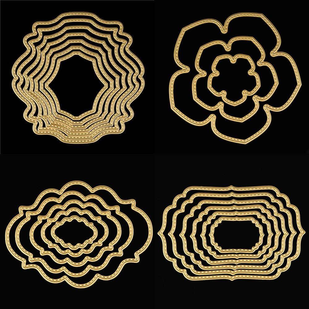 OYSOHE Metal Die Cutting Dies Stencil for DIY Scrapbooking Album Paper Card Decor Craft