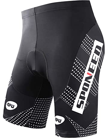5161e22c69 sponeed Men's Cycling Shorts Padded Bicycle Riding Pants Bike Biking  Clothes Cycle Wear Tights
