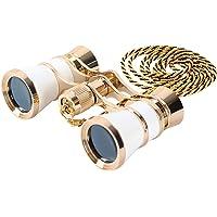 Opera Glasses Binoculars 3X25 Theater Glasses Mini Binocular Compact Lightweight with Handle for Adults Kids Women in…