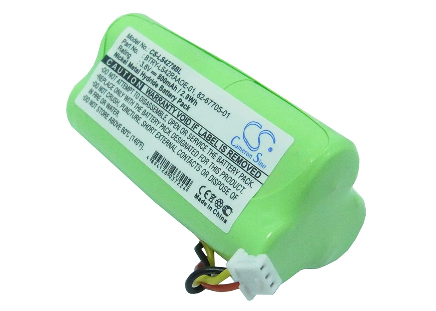 Consumer Electronic Products Symbol 82-67705-01, BTRY-LS42RAAOE-01 800mAh Battery Supply Store VINTRONS P-10-25959