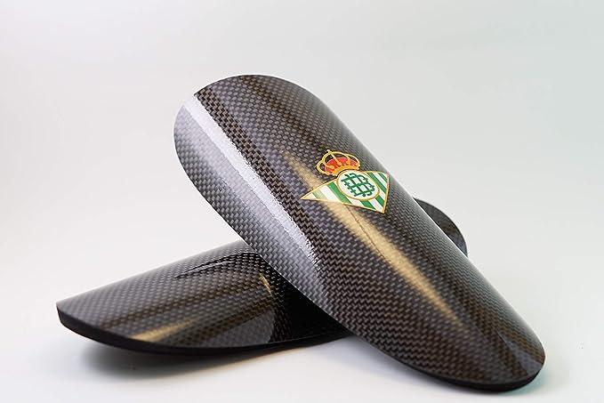 Desconocido ESPINILLERA Carbono Real Betis BALOMPIE (L): Amazon.es: Deportes y aire libre