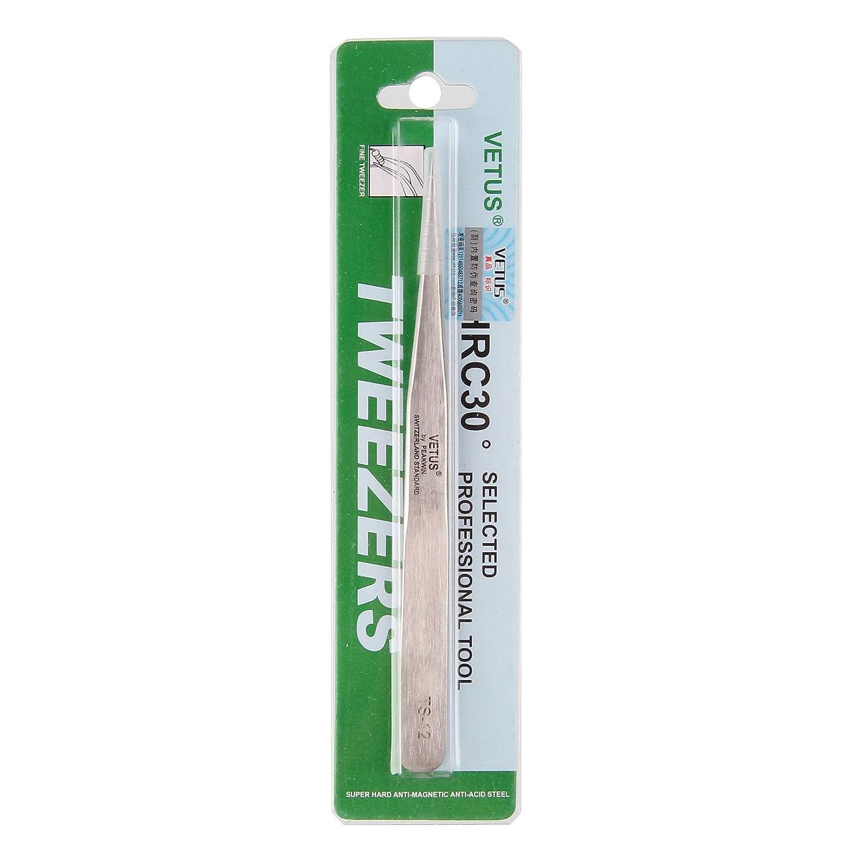 Ongle Epiler Manucure Outil Multifonction Faux Cils Extension de Cils Beauty7 Pince Precelle Brucelle Pincette VETUS Tweezers Antistatique Metal Applicateur Facial Comedon