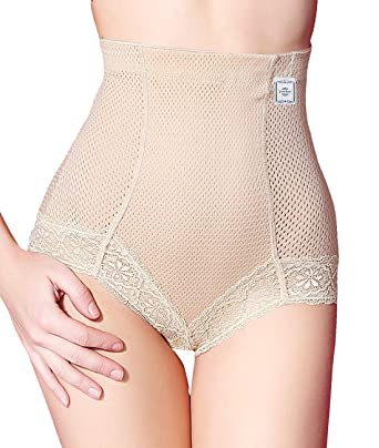 717b9daab High Waist Brief Shapers for Women Tummy Control Body Shaper Panties with  Hi-Compression  Amazon.co.uk  Clothing