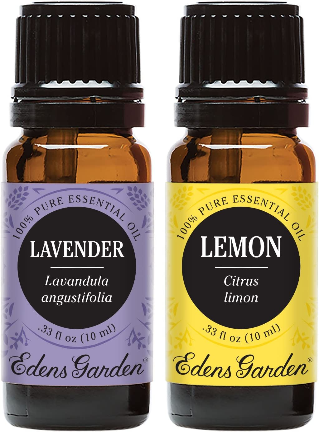 Edens Garden Lavender & Lemon Essential Oil, 100% Pure Therapeutic Grade (Highest Quality Aromatherapy Oils), 10 ml Value Pack