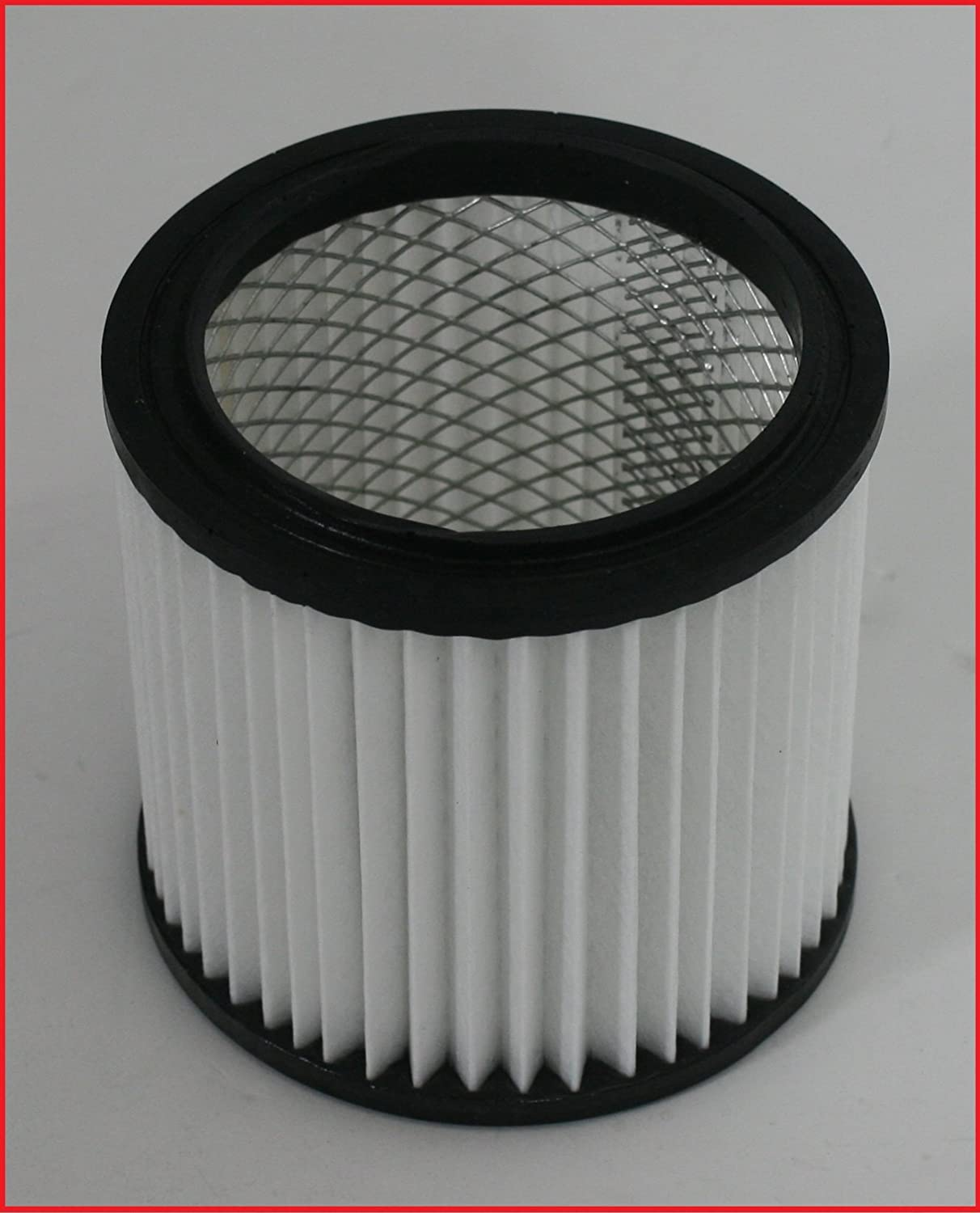 Filter suitable for Lidl Parkside Pas 500 A1 Lidl Ian 53462 fireplace vacuum cleaner/ ash vacuum cleaner, Pleated Filter