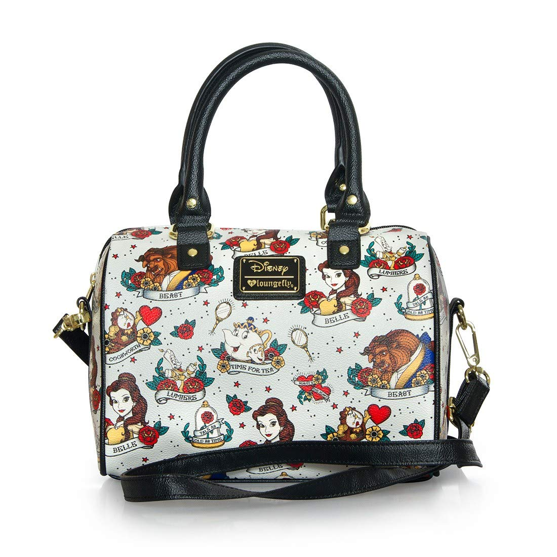 Beauty and the Beast Belle Tattoo Hangbag Bag  Amazon.ca  Shoes   Handbags 31621a283058e