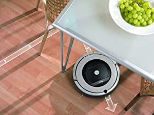 iRobot Roomba 860 Vacuum Cleaning Robot + Dual Mode Virtual Wall Barrier (With Batteries) + Extra High Efficiency Filter