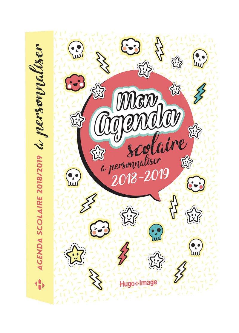 Mon agenda scolaire à personnaliser: Amazon.es: Hugo Image ...