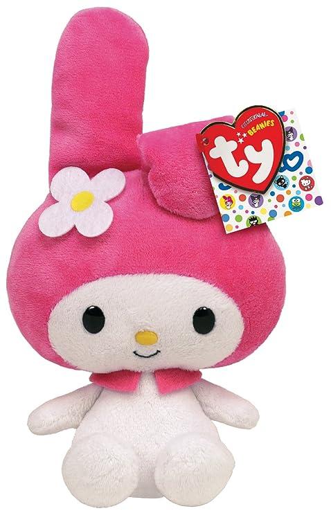 f23e70f6f8d Amazon.com  Ty Beanie Baby My Melody Hello Kitty Friend  Toys   Games