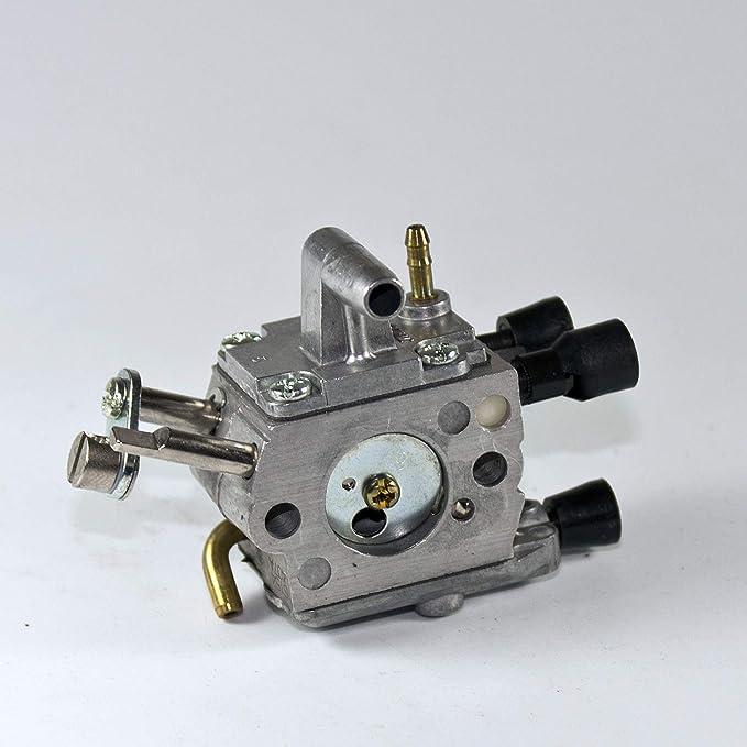 carburador para desbrozadora Stihl FS 450 - 41281200607: Amazon.es ...