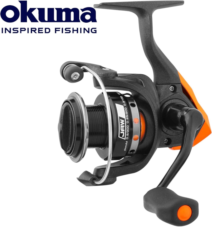 Okuma Jaw Fd 20 30 Or 40 Size Depredador Carrete Giro: Amazon.es ...
